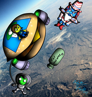 cheeseburger_freedom_man game:kerbal_space_program kerbal new_year streamer:joel // 850x900 // 1.2MB