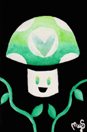 artist:hungaryoak streamer:vinny vinesauce vineshroom watercolor // 600x902 // 560.2KB