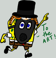 charity_stream game:boat-o-cross gas_mask spongebob streamer:revscarecrow top_hat // 823x849 // 142.5KB