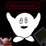 artist:hachibitto97 game:Classic_Game_Commercials game_boy kirby nintendo streamer:vinny // 500x500 // 105.2KB