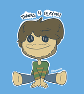 artist:avianite game:little_big_planet sackboy streamer:vinny // 719x800 // 113.3KB