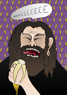 artist:ploterka banana game:donkey_kong streamer:joel // 1463x2070 // 2.4MB