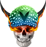 blue fire green mushroom skull streamer:joel vinesauce // 994x1006 // 933.9KB