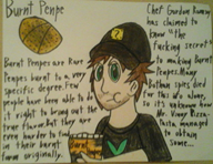 brown_hair clothes food green_eyes hat humor streamer:vinny text // 1493x1152 // 1.0MB