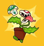 artist:slimespecter game:super_smash_bros_Ultimate piranha_plant streamer:vinny // 933x975 // 216.5KB