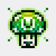 badge streamer:vinny vinesauce vineshroom // 100x100 // 4.2KB