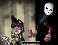 artist:PuckSpark chat game:spookys_jumpscare_mansion hot_chocolate meat streamer:vinny // 2000x1574 // 3.6MB