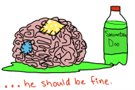 artist:tanookipants brain mountain_dew streamer:hootey trauma_center // 576x384 // 126.7KB