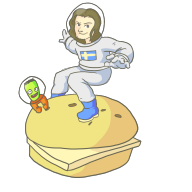 artist:froyuh burger game:kerbal_space_program streamer:joel // 1000x1000 // 226.1KB