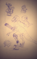 cute dinosaurs game:turok sketch streamer:vinny vinesauce vineshroom // 749x1208 // 147.6KB