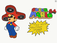 fidget_spinner game:fidget_spinner_64 game:super_mario_64 mario streamer:vinny // 2048x1536 // 365.8KB
