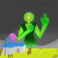 artist:twistydragon game:godus god streamer:vinny vinesauce // 1000x1000 // 348.1KB