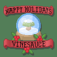 animated artist:zoshi christmas mushroom pixel_art snow snow_globe vinesauce vineshroom // 448x448 // 29.7KB