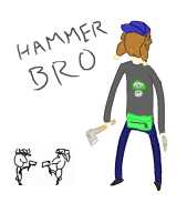 drawing_with_vinny game_and_wario hammer_bro streamer:vinny // 705x798 // 41.8KB