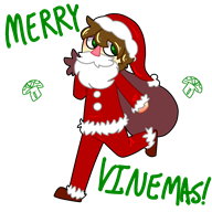 artist:anon505 christmas streamer:vinny vinemas vinesauce // 1600x1600 // 283.6KB