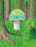 anniversary forest grass trees vines vinesauce vineshroom // 1200x1571 // 2.5MB
