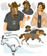 artist:jomajaba game:mount_your_friends horse streamer:vinny // 1182x1400 // 1.3MB