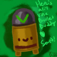 artist:snurtlicious game:enter_the_gungeon streamer:vinny // 750x750 // 472.2KB