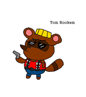 artist:roboribs duke_nukem game:animal_crossing_new_leaf streamer:vinny tom_nook // 800x900 // 50.9KB