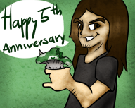 5th_anniversary anniversary artist:grand0m birthday streamer:joel vineshroom // 1280x1024 // 1.3MB