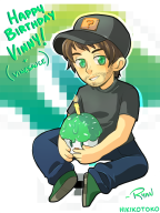 5_years anniversary artist:hikikotoko birthday streamer:vinny vinesauce // 600x800 // 240.9KB