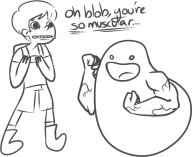 artist:gr0ss game:a_boy_and_his_blob streamer:ky // 702x575 // 105.9KB