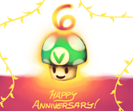 6th_anniversary artist:shad_noise streamer:vinny vineshroom // 1259x1062 // 619.0KB