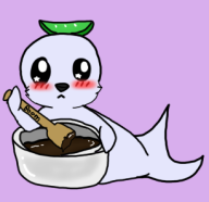 chocolate seal // 306x298 // 42.7KB