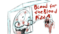artist:sukotto black_mesa blood memes pizza skeleton streamer:joel // 922x543 // 357.7KB