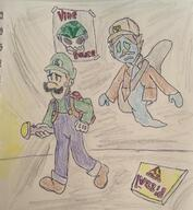 artist:skipjack game:Luigi's_Mansion streamer:vinny // 589x640 // 58.6KB