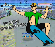 animated artist:foreveranonymous corruptions skateboard streamer:vinny // 704x600 // 2.1MB