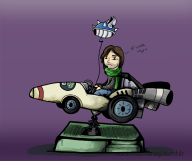 blue_shell game:mario_kart_7 mario_kart streamer:vinny vinesauce // 1000x841 // 315.5KB