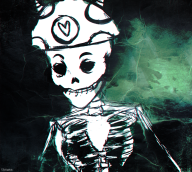artist:dresoria skeleton spoop streamer:joel // 1000x900 // 1.3MB
