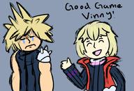 artist:CheekyMonados cloud game:super_smash_bros_Ultimate shulk ssbu streamer:vinny // 1024x699 // 438.2KB