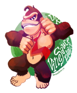 artist:vanduobones donkey_kong game:donkey_kong_country_tropical_freeze streamer:vinny // 800x967 // 413.0KB