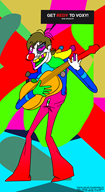 artist:monterrang clown red_vox streamer:vinny // 761x1386 // 143.9KB