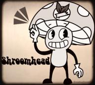 1920's artist:sheeplessdreamr cartoon cuphead shroomhead streamer:vinny vineshroom // 1336x1202 // 1.4MB