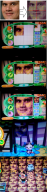 animal_crossing artist:rowsdowerrrrr reggie // 500x2020 // 3.9MB