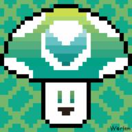 artist:Worlem pixel_art streamer:vinny vineshroom // 512x512 // 7.1KB
