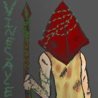 artist:DocJackal game:silent_hill_2 pyramid_head streamer:vinny // 1280x1280 // 977.8KB