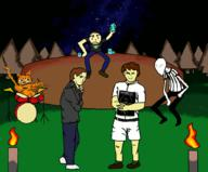 MatPat Todd_Howard animated artist:Arctic_Aorta baldi garfield slenderman streamer:joel // 1024x850 // 1.2MB
