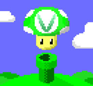 pipe pixel_art vineshroom // 670x620 // 3.2KB