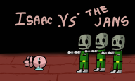 artist:tev216 binding_of_isaac game:tomodachi_life jahn jahns rebirth streamer:vinny // 1600x960 // 318.0KB