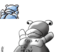 artist:archvile blastoise cap frog game:pokemon_blue hardcore_fridays pokemon streamer:joel // 1141x1024 // 276.1KB
