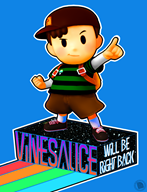 artist:goldrubyproduction be_right_back brb game:earthbound streamer:vinny vinesauce // 768x1000 // 428.6KB