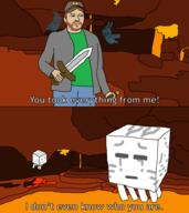 Michael artist:Ultragamer63 game:minecraft john streamer:vinny // 854x960 // 71.0KB