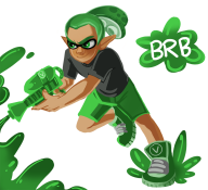 artist:keluturtle brb game:splatoon streamer:vinny // 900x821 // 302.2KB
