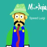 artist:JoDaEpicGuy game:miitopia speed_luigi streamer:vinny // 768x768 // 110.3KB