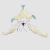 artist:shard game:pokemon_art_academy jirachi pokemon streamer:direboar // 1000x1000 // 224.2KB