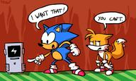 Game:Sonic_3_&_Knuckles Miles_Tails_Prower artist:putuk sonic_the_hedgehog streamer:imakuni streamer:vinny // 1000x600 // 199.9KB
